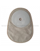 One piece closed  Hydrocolloid colostomy bag
