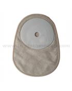 One piece closed PE colostomy bag