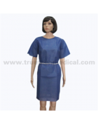 SBPP Patient Gown with Short Sleeves